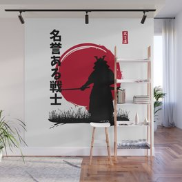 Honorable warrior Wall Mural