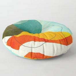 shaped world Floor Pillow
