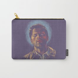 Castiel. Blue halo. Carry-All Pouch