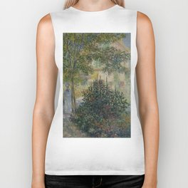 "Claude Monet ""Camille Monet in the Garden at Argenteuil"" Biker Tank"