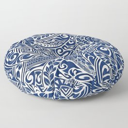 Hawaiian tribal pattern III Floor Pillow