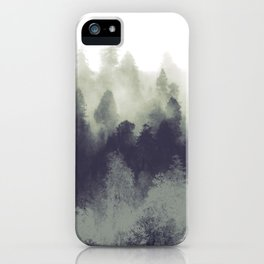 Mountain Forest Abstract iPhone Case