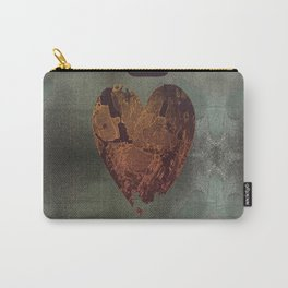 Abstract heart on sparkles Carry-All Pouch