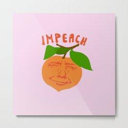Impeach Trump Metal Print