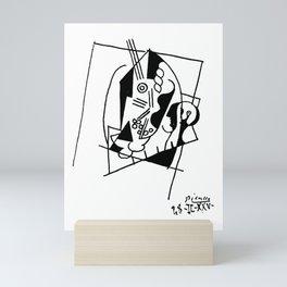 Picasso Guitare et Boîte (Guitar and Box) 1925 Artwork Reproduction Mini Art Print
