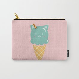 Mint Ice-cream Carry-All Pouch