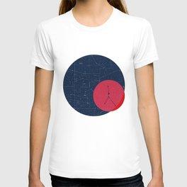 Cancer Star Map T-shirt