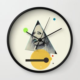 Isis - The keeper of all secrets Wall Clock