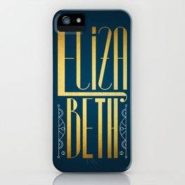 Elizabeth iPhone Case