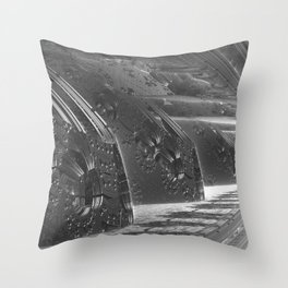 Cannon Battery (Desaturate) Throw Pillow