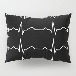 ecg arrow  Pillow Sham