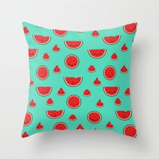 Watermelon Pattern Throw Pillow