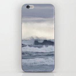 BROODY PACIFIC OCEAN iPhone Skin