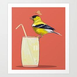 Limonada Americana Art Print