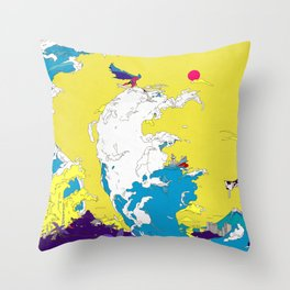 FUN FUN FUN Throw Pillow