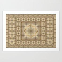 Morocco Mosaic 2 Art Print