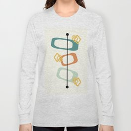 Mid Century Modern Shapes 02 Long Sleeve T-shirt