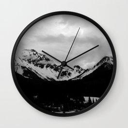 Telluride Mts. 1 Wall Clock