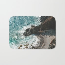 Vernazza's beach Bath Mat