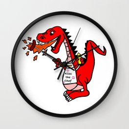 BBQ Dragon Wall Clock