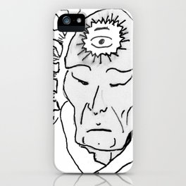 Deep Star Man iPhone Case