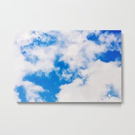 Sky background Metal Print