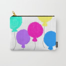 Fly Freely - colorful balloon illustration Carry-All Pouch