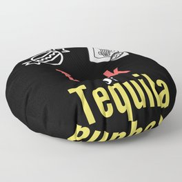Trick or Tequila with this funny pun Floor Pillow