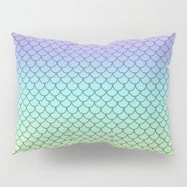 Rainbow Fish Scales Pillow Sham