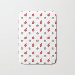 Little Berries | Pink & Red Bath Mat