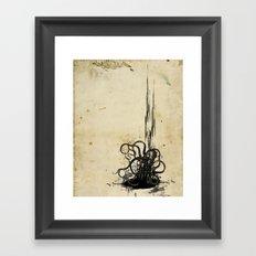 (s)inked Framed Art Print