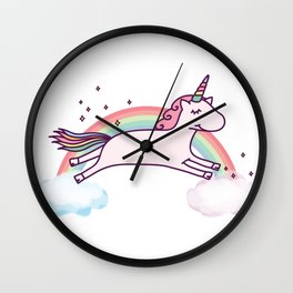 UNICORN - It's so fluffy! Wall Clock