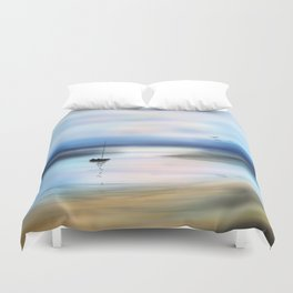 Digital Waterway Duvet Cover