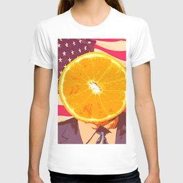 Orange for President T-shirt