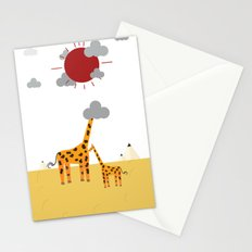 His  High Giraffe  Stationery Cards