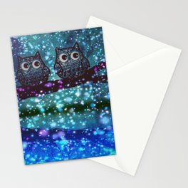 Owl New colour 89 Stationery Cards