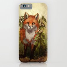 Fox [caming out of the woods] Slim Case iPhone 6s
