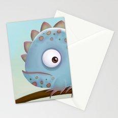 Cute Iguana Stationery Cards
