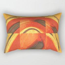 A Bug's Eyes Rectangular Pillow