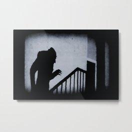 Nosferatu Classic Horror Movie Metal Print