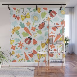 Kids Insects Wall Mural