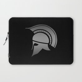 Ancient Greek Spartan Helmet Laptop Sleeve