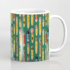 Little Pencils Green Mug