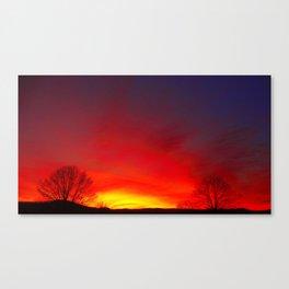 Peaceful Night Canvas Print