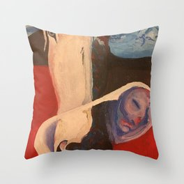 Protecting the Seed of Hope Throw Pillow