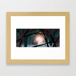 The secret of the Fireflies! Framed Art Print