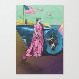 Columbia Canvas Print
