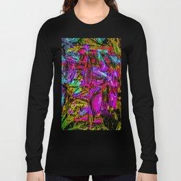 Tropic Abstract Long Sleeve T-shirt