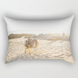 Baja donkeys Rectangular Pillow