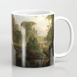 Thomas Cole Expulsion from the Garden of Eden Coffee Mug
